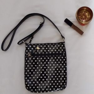 Handbags - Girls cute Polka dot - black and white handbag
